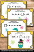 Order of Operations in Math Task Cards Winter Owls Theme 5