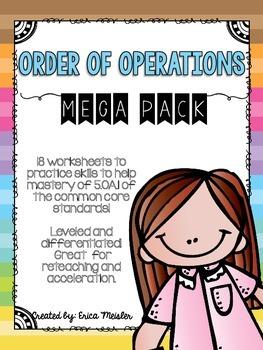 Order of Operations Mega Pack