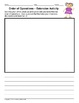 Order of Operations-Notes on Foldable & Printable Assignme