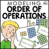Order of Operations Modeling Task Cards