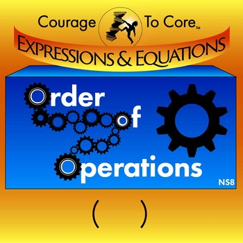 Order of Operations (NS8): 6.EE.A.2