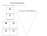 Order of Operations Notes (Editable)