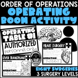 Order of Operations - Operating Room