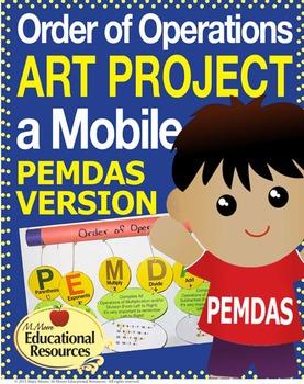 Order of Operations - ART PROJECT - PEMDAS