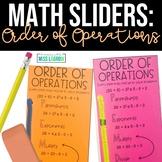 Order of Operations PEMDAS Math Aid Manipulative