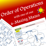 Order of Operations Notes WITH an a-Mazing Maze