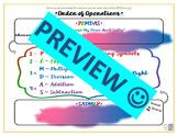 Order of Operations PEMDAS / SADMEP Solving Equations