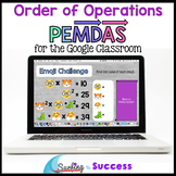 Order of Operations PEMDAS Interactive Math for the Google Classroom