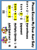 Order of Operations PEMDAS parentheses, brackets, braces