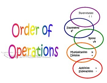 Order of Operations Packet