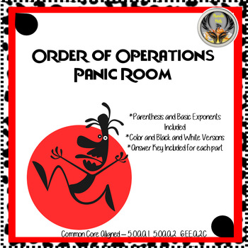 Order of Operations Panic! Room