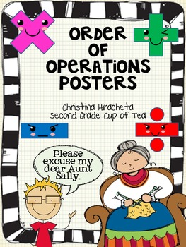 Order of Operations: Please Excuse My Dear Aunt Sally Post