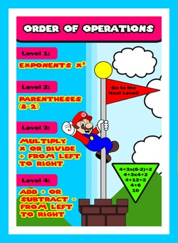 Order of Operations Poster BUNDLE