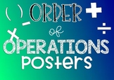 Order of Operations Posters { BODMAS / BOMDAS }