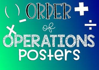 #ausb2s19 Order of Operations Posters { BODMAS / BOMDAS }