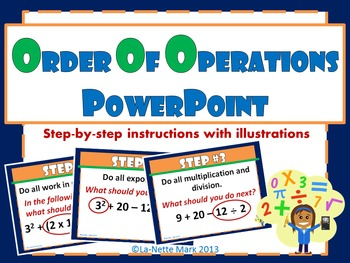 Order of Operations PowerPoint