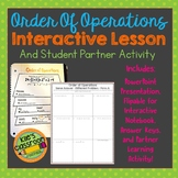 Order of Operations  - PowerPoint, Interactive Notebook, and Activity Bundle