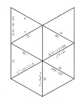 Common Core: Order of Operations Puzzle! Math Puzzle for Grades 6 and up