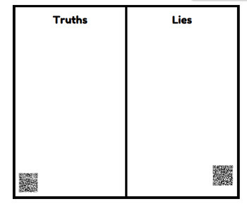 Order of Operations QR Code Lie Detector Test TEKS 5.4E and 5.4F No Exponents