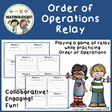 Order of Operations Relay (PEMDAS)