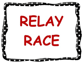 Order of Operations Relay Race and Practice