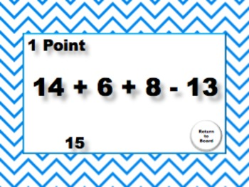 Order of Operations: Review Game