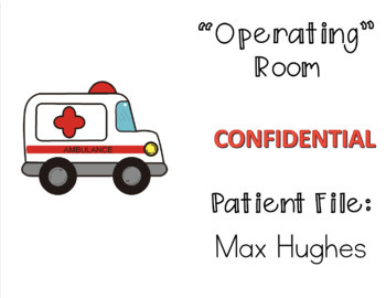 Order of Operations Review - Operating Room