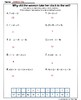 Order of Operations Riddle Page