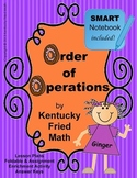 Order of Operations SMART Notebook & Interactive Notebook Middle School Math