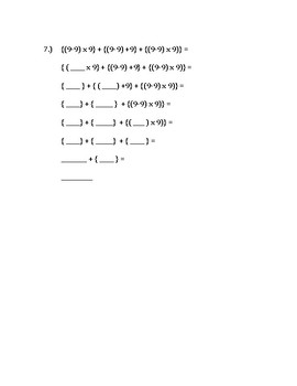 Order of Operations - STEP BY STEP