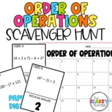Order of Operations Scavenger Hunt