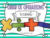 Order of Operations Scoot