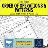 Order of Operations & Patterns 5th Grade