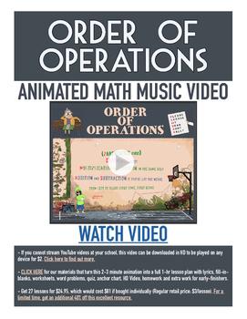 Order of Operations | FREE Game, Worksheet, & Fun Video |