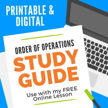Order of Operations Study Guide
