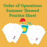 Order of Operations Summer Theme