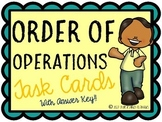 Order of Operations {Task Cards}