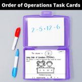 Fun Math Worksheets for Middle School: Order of Operations