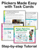 Order of Operations Task Cards Level 2 (with Images for Plickers)