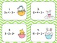 Order of Operations Task Cards Easter Theme