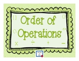 Order of Operations Task Cards by LiB