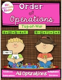 Order of Operations Math Center Game {All Operations}