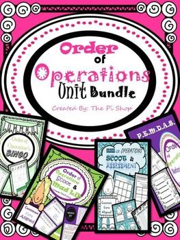 Order of Operations Unit Bundle