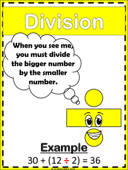 Order of Operations - What Does The Operation Say?