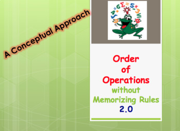 Order of Operations Without Memorizing Rules 2.0