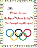 PyeongChang 2018 Order of Operations