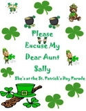 Order of Operations for St. Patrick's Day