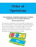 Order of Operations for Versa Tiles