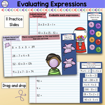 Order of Operations for use with Google Classroom