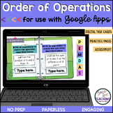 Order of Operations for use with Google Classroom #Distanc